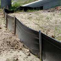 Jensen Bridge - Silt Fence